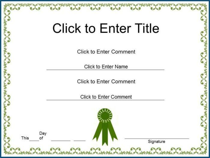Employee Appreciation Day Certificate Template