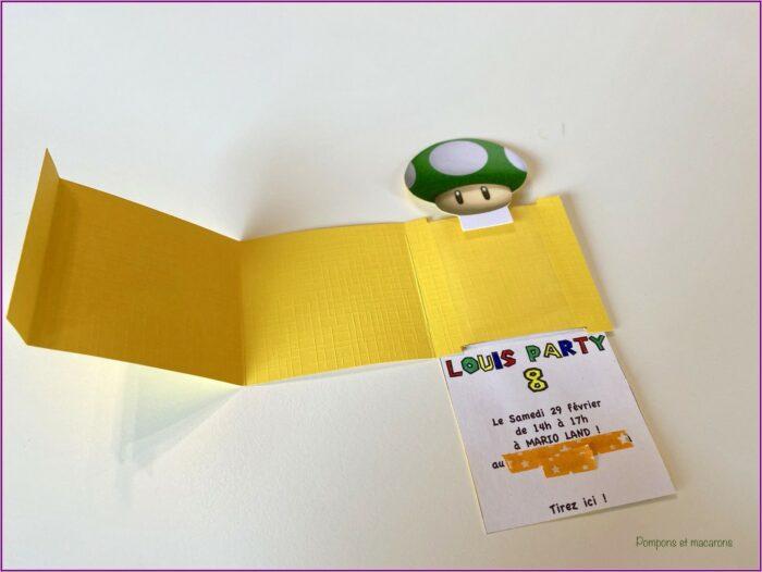 Invitation Anniversaire Mario Bros A Imprimer