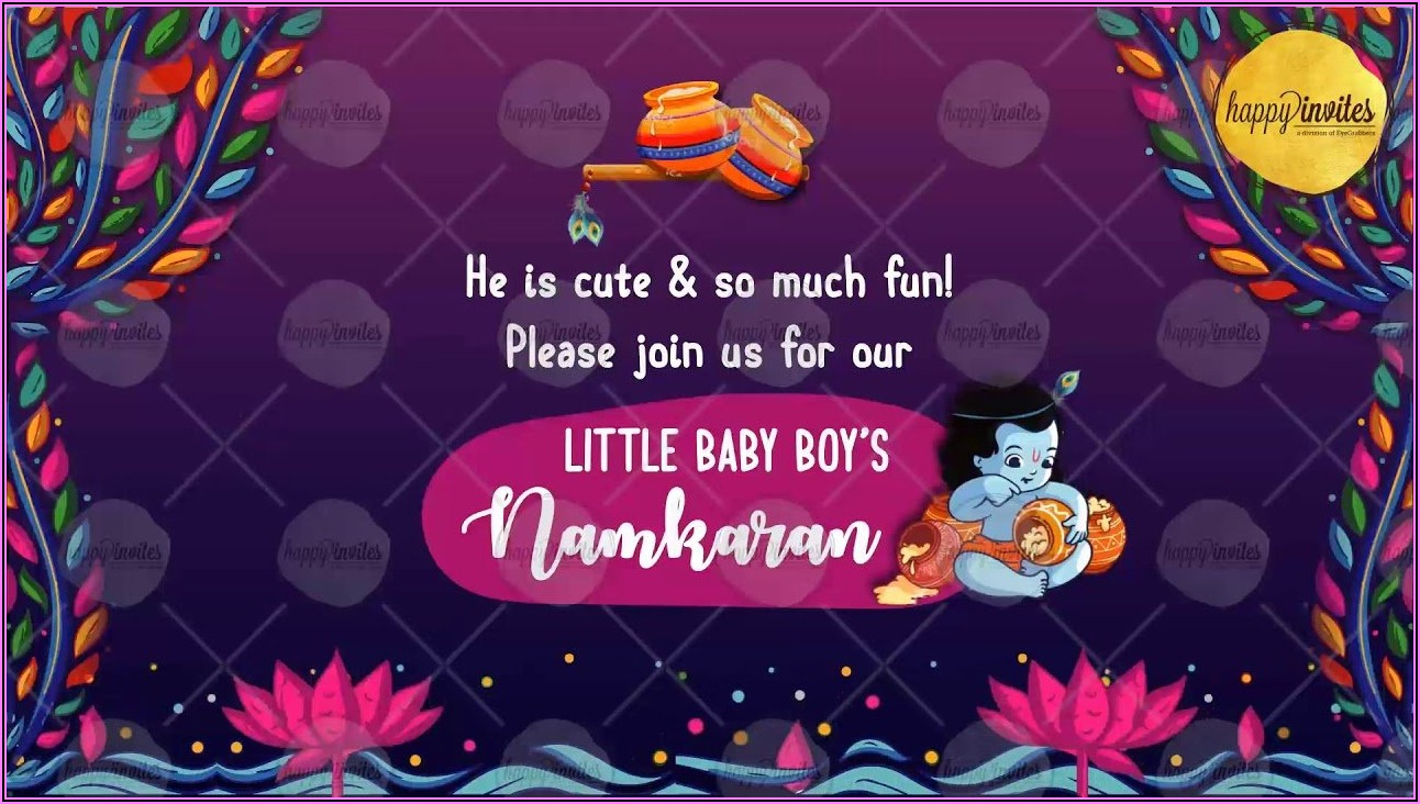 Naming Ceremony Invitation Background Music Download