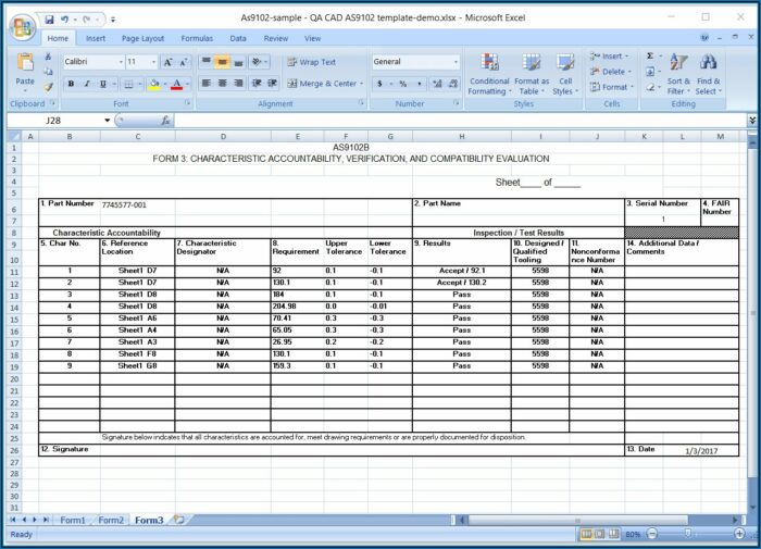 Property Condition Report Template Excel
