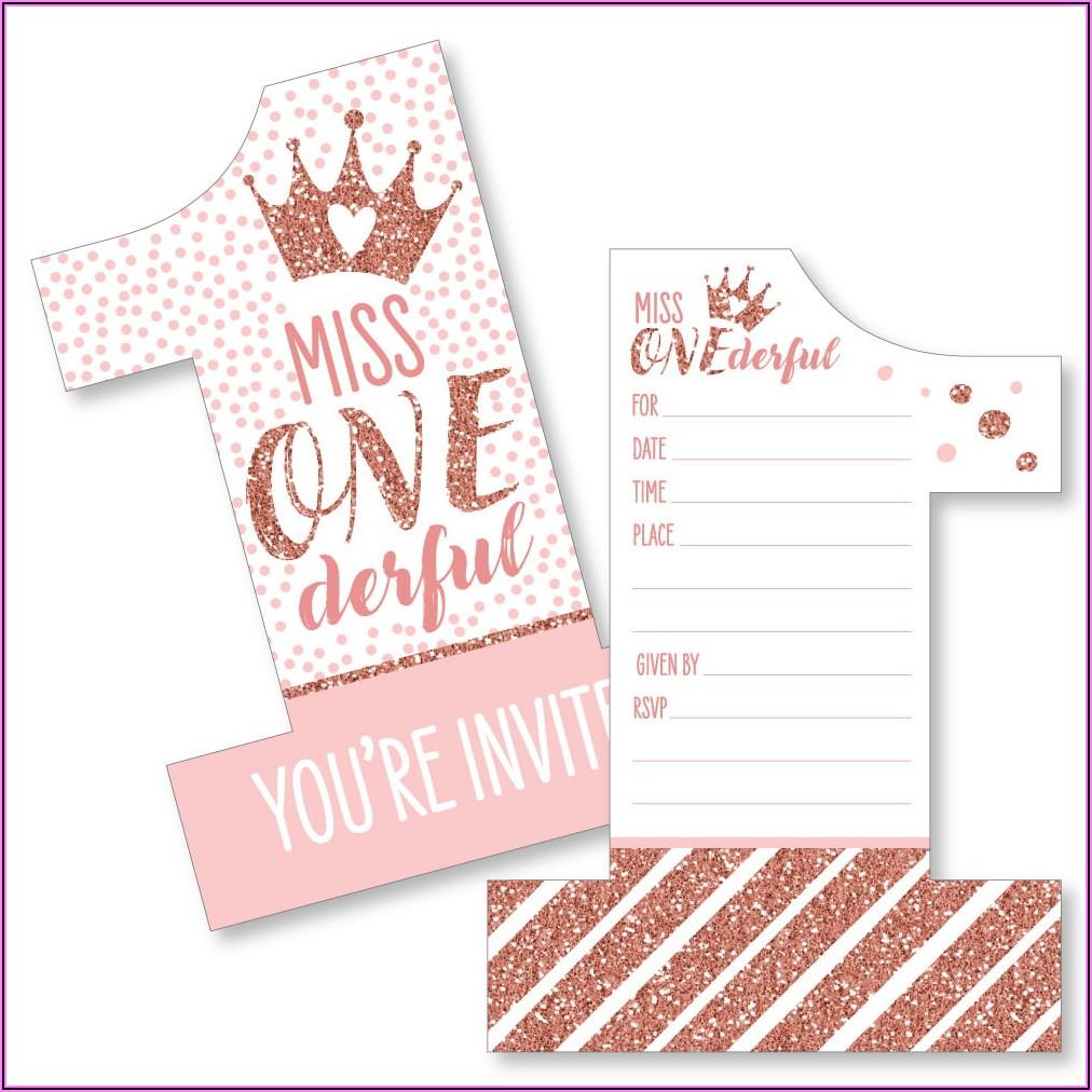 Royal Prince 1st Birthday Invitations