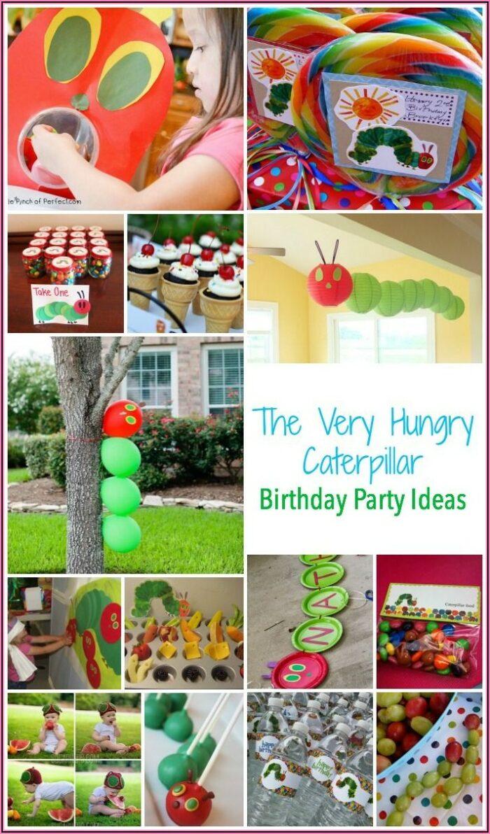 Very Hungry Caterpillar Invitation Template Free