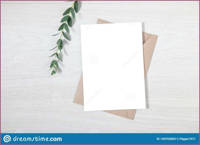 Wedding Invitation Card Mockup