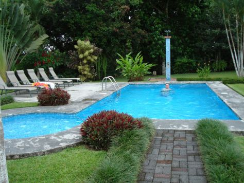 Hotel Monte Real pool, La Fortuna, Costa Rica