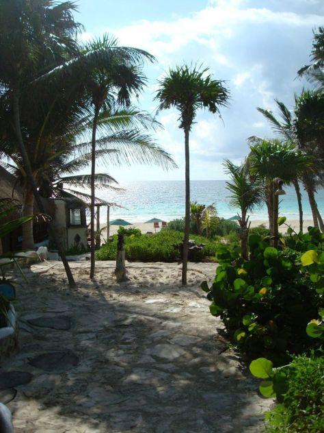 Tulum beach bungalow