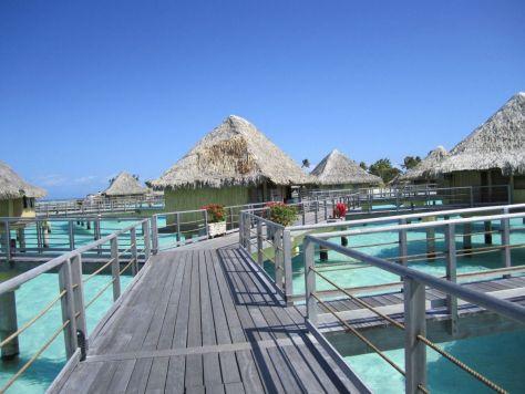 Intercontinental Le Moana Bora Bora overwater bungalows