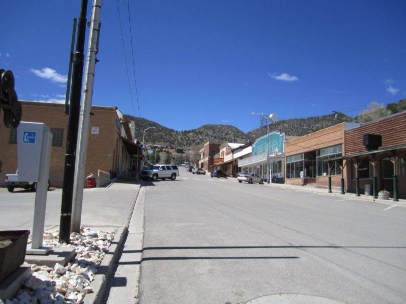 Old mining town of Pioche Nevada, NV