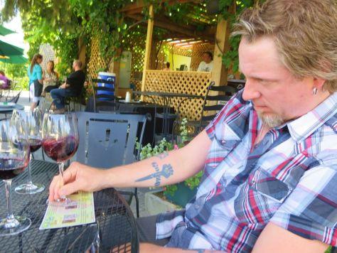 Vin du Lac winery chelan