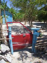 The awesomest gate we've ever seen