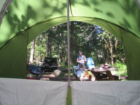 Big Creek Campground Mt Rainier 038