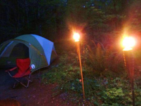 Big Creek Campground Mt Rainier