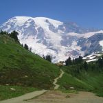 Alta Vista hike Mt Rainier National Park