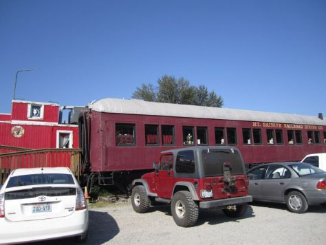 Mt Rainier Railroad Diner Elbe, WA
