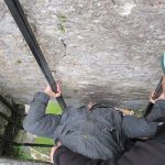 Kissing the Blarney Stone Blarney Castle Ireland