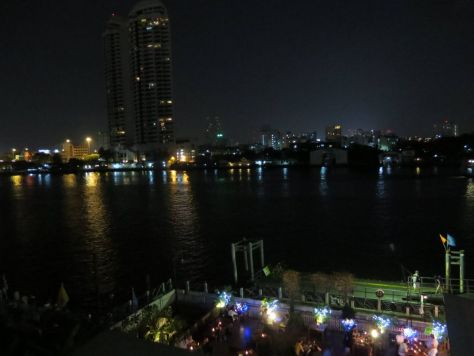 Navalai River Resort Bangkok night view Thailand 428