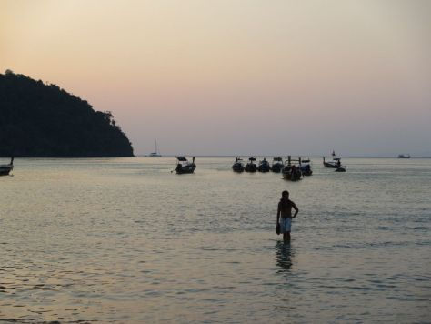 Loh Dalum Beach sunset Phi Ph Thailand 458