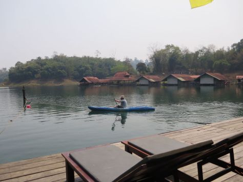 floating lake safari Thailand