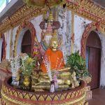 Songkhlaburi temple Thailand