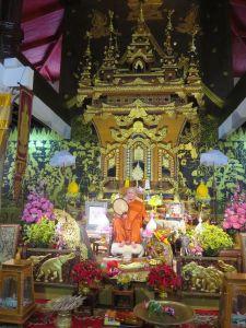 Temple in Songkhlaburi Thailand