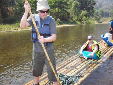 bamboo rafting Thailand 188