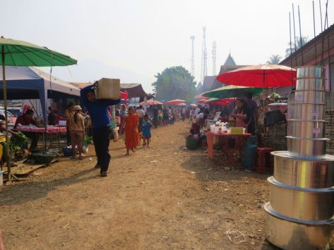 """Sunday"" market, Thai/Myanmar border"