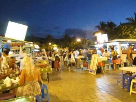 Night market in Papeete, Tahiti
