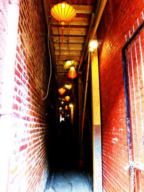 Fan Tan Alley Victoria BC