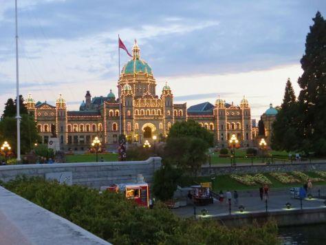 Victoria BC Parliament Building