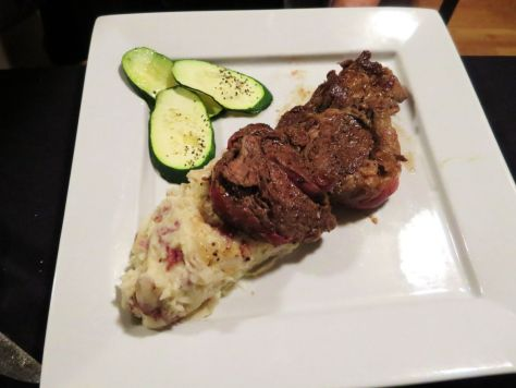 Vin Du Lac Winery Chelan Rib Eye steak