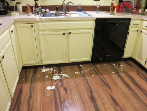 Pumpkin Chiffon Pie whipped cream accident