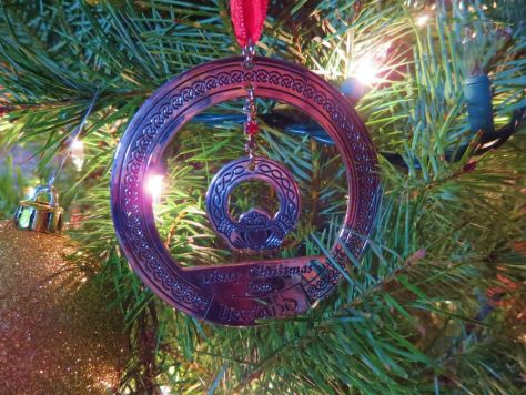 Christmas ornament from Ireland