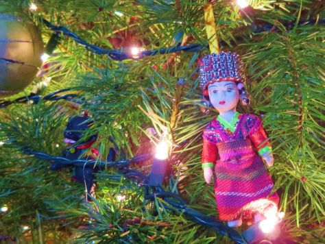 our lives in ornaments Thailand Christmas ornament