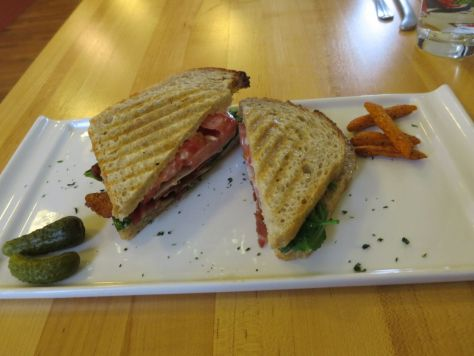 BLT at San Juan Cheese Friday Harbor