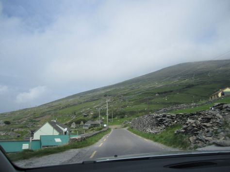 motion sickness winding roads in Ireland