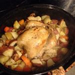 Culinary Adventures: Maple and Apple Cider Brined Roast Chicken