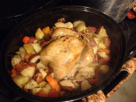 maple and apple cider brined roast chicken recipe