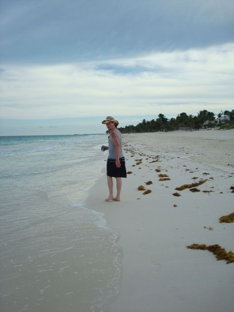 romantic getaways secluded Tulum beach Mexico
