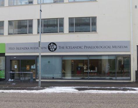 Penis Museum Reykjavik Iceland