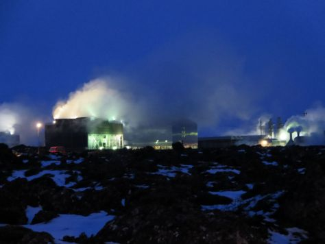 Geothermal power plant that accidentally created the Blue Lagoon