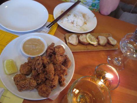 Biwa karaage fried chicken and shiitake skewer Portland (6)