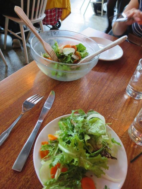Simple greens at Tasty N Alder Portland