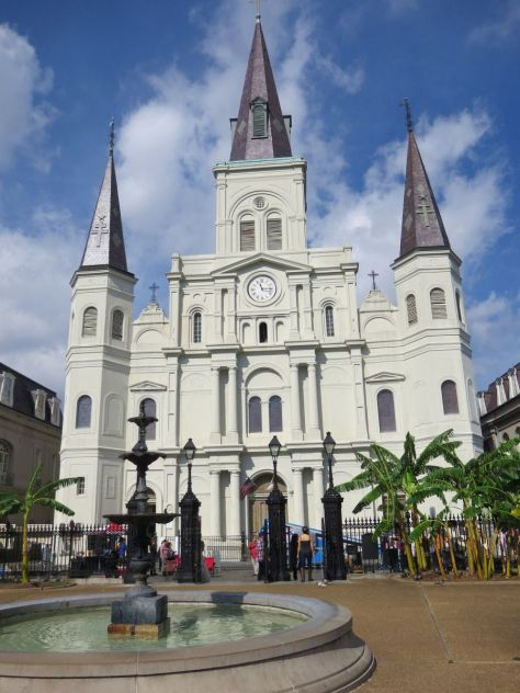 St. Louis Cathedral in Jackson Square New Orleans