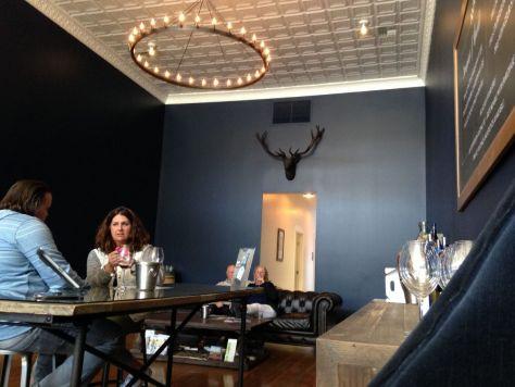 Maison Bleue tasting room Walla Walla