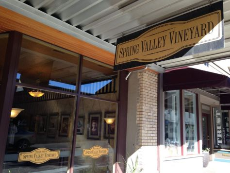 Spring Valley Vineyard tasting room, Walla Walla