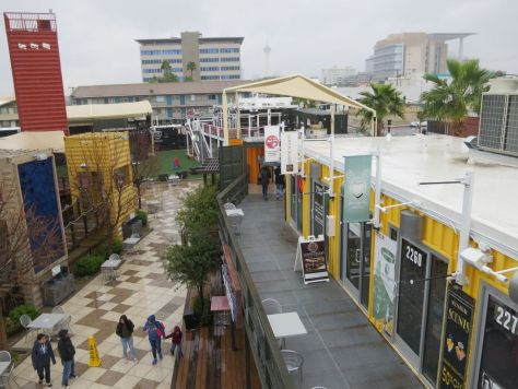 Container Park Mall, downtown Las Vegas