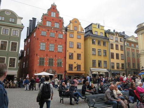 Stortorget in Gamla Stan neighborhood, Stocholm