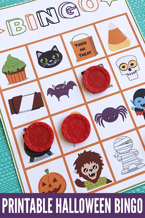 Halloween Games For Kids Printable Halloween Bingo