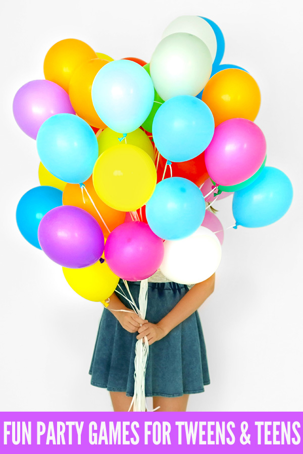 11 Classic Party Games For 10 14 Year Olds Great For Tweens Teens
