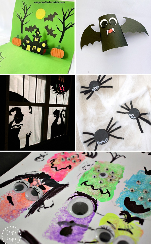 Halloween Kids Art Activities