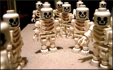 spooky lego